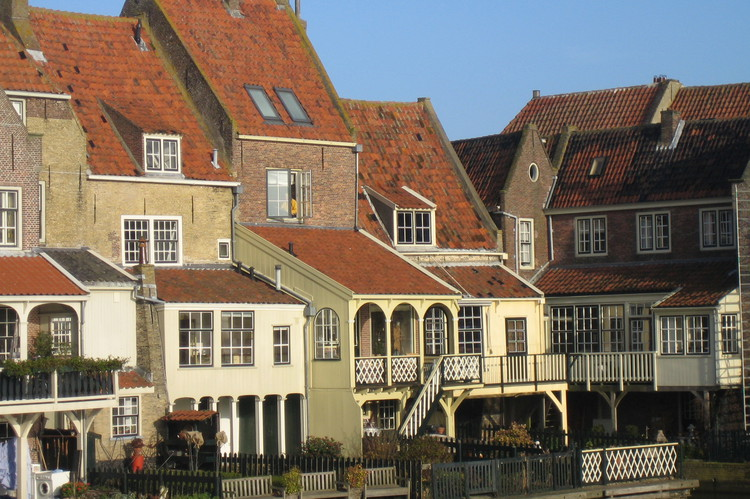 Overnight at a hotel in the pretty town of Enkhuizen Zuiderzee
