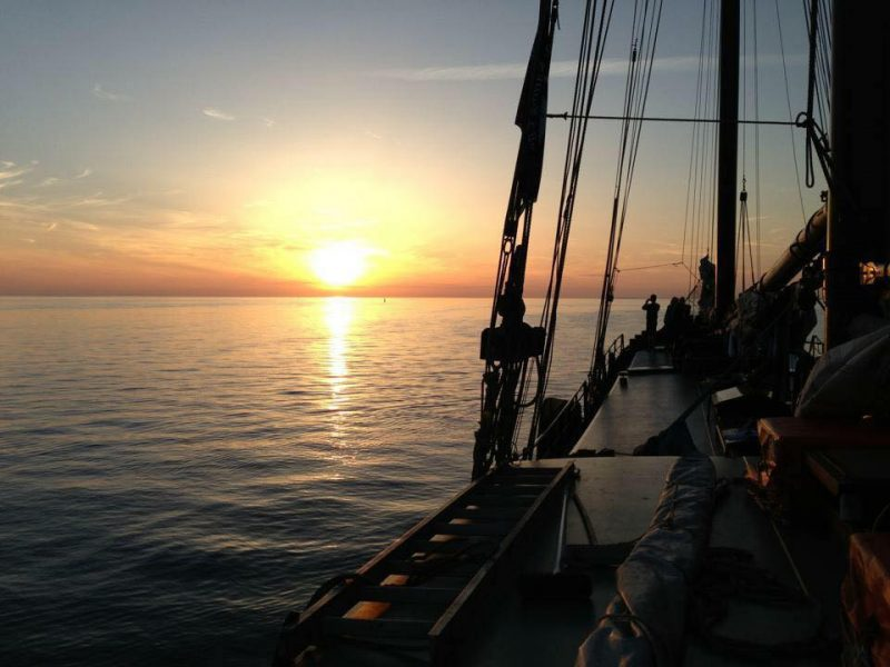 segeln zurück