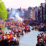 Koningsnacht konings dag Amsterdam hotel